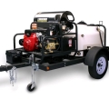 Rental store for WASHER 3000PSI HOT  DIESEL TRAILER in Texas City TX