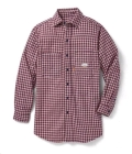 Rental store for .SHIRT,F.R.C. SZ L RED PLAID in Texas City TX