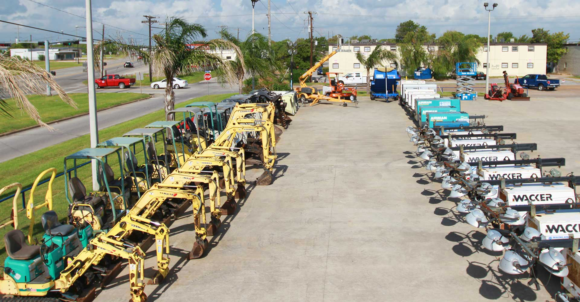 Heavy Equipment Rentals in Pasadena, Texas City, Houston, Galveston TX